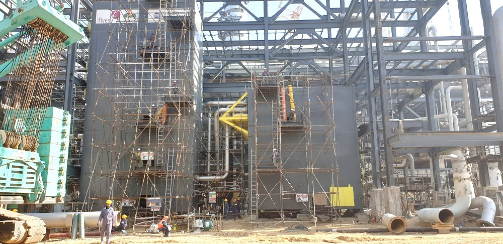 Fives completes an installation in the Bathinda petrochemical project
