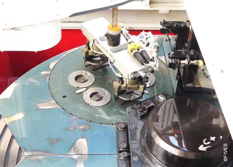 Vertical Double Disc Grinding