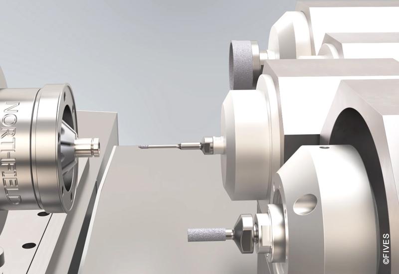 Bryant RU2 multi-spindle ID OD grinder