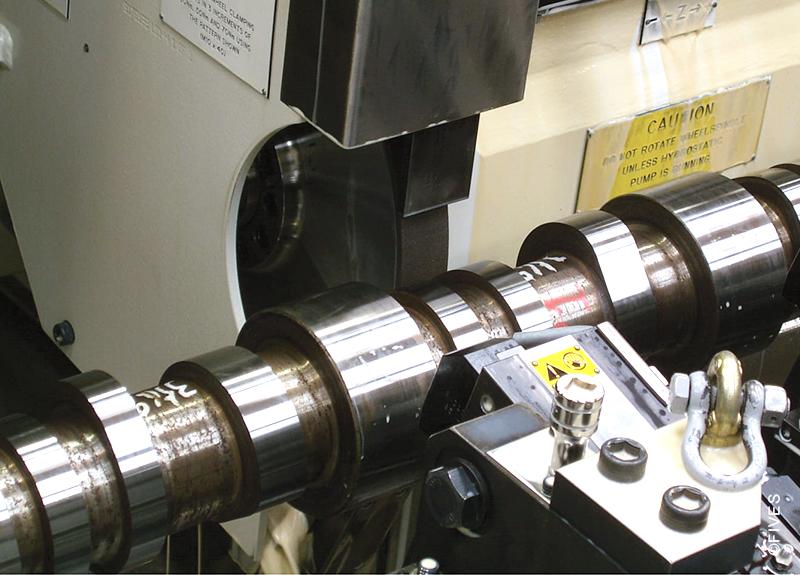 Landis LT2He - Crankshaft and camshaft grinder