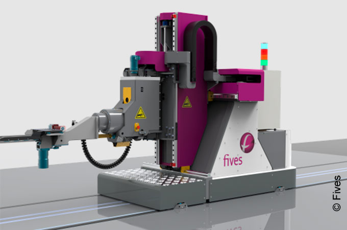 Robotic roll changer for fast, flexible and safe roll changes