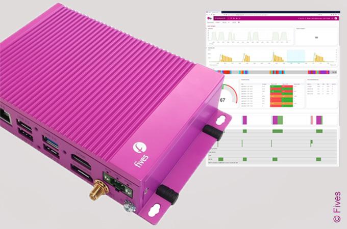 Gateway module for smart monitoring