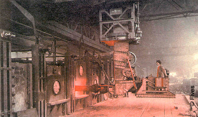 History - steel reheating furnace from Fives