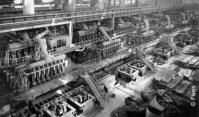 History - reheating furnaces from Fives