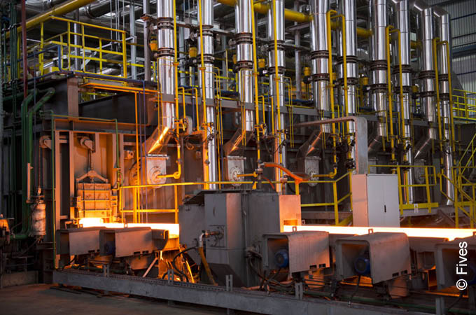 Reheating furnaces from Fives