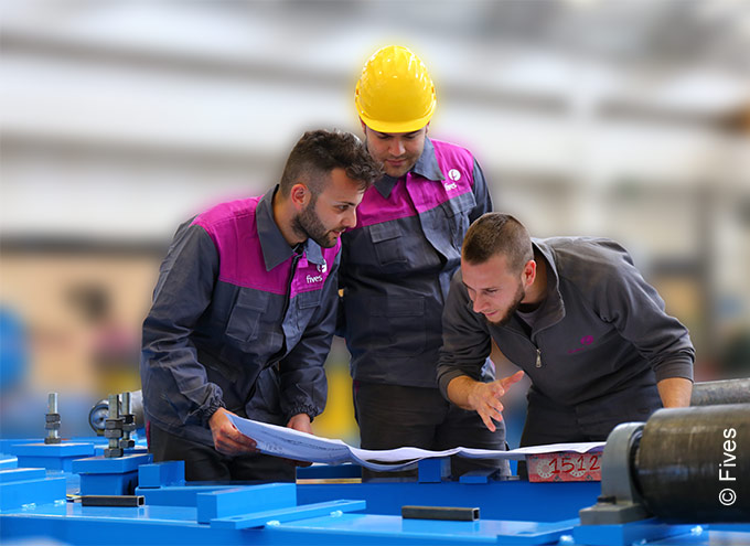 Steel process expertise from Fives specialists
