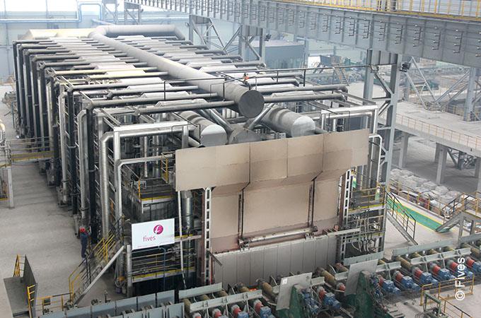 Stein Reget@l Furnace operates with flue gases.