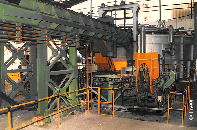 Stein Specialty Furnace for heat treatment