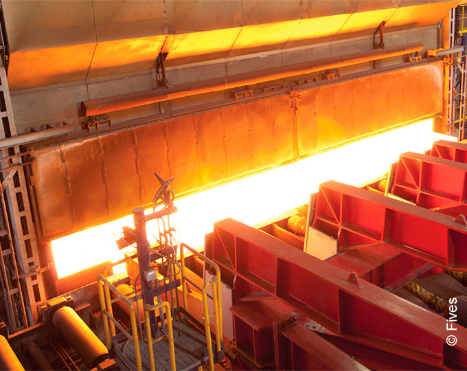 Walking beam furnaces from Fives