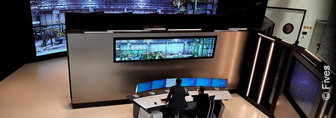 Digital twin hub for Steel Training Academy