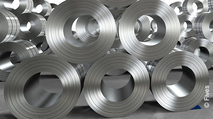 Annealing and galvanizing lines from Fives