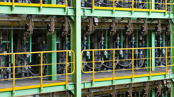 Combustion systems for strip processing lines