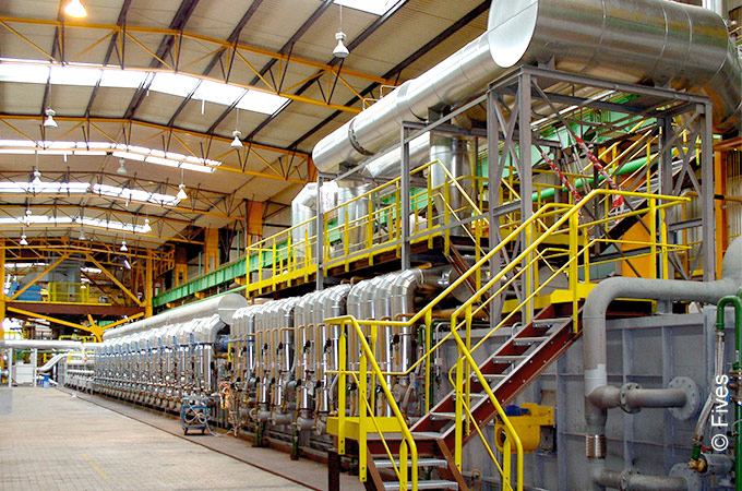 NeoKoil® combined galvanizing and painting lines from Fives