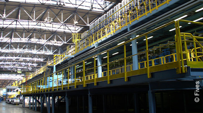 Silicon steel processing lines from Fives