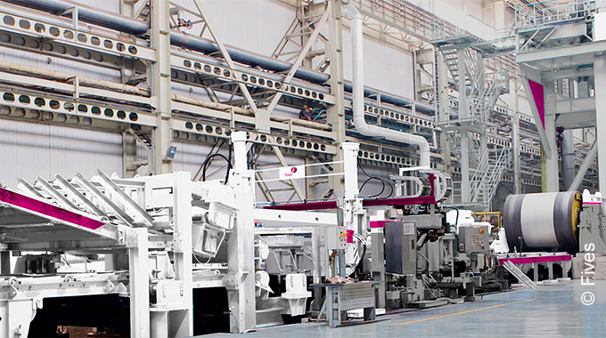 Stainless steel processing lines from Fives