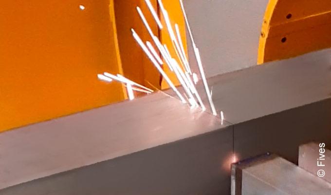 Laser cut-offs from Fives