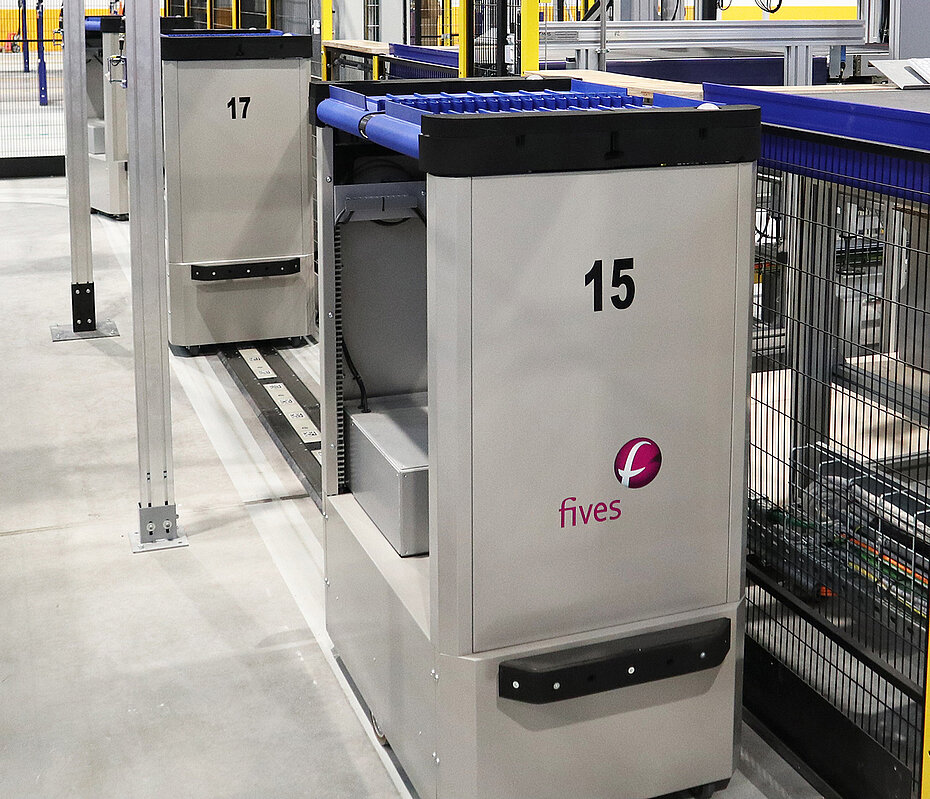 Fives' AMR sorter: Snatt Logistica chose the GENI-Ant for its new distribution center