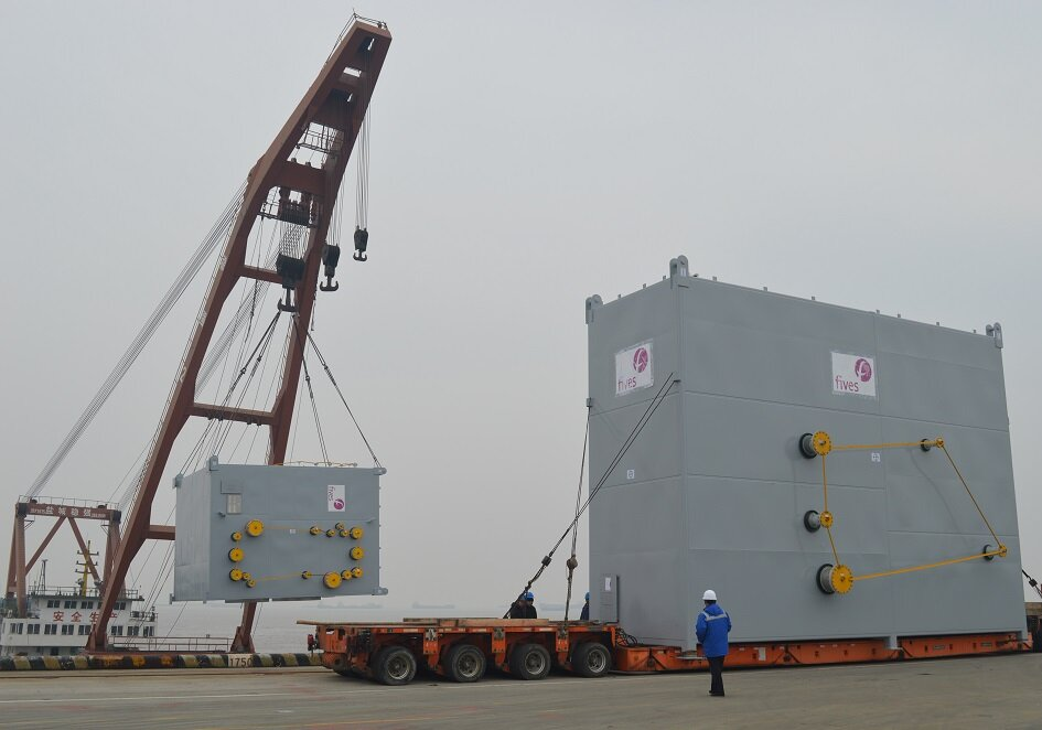 First LNG project for Fives and Hangzhou Fortune Gas Cryogenic Group Co., Ltd.