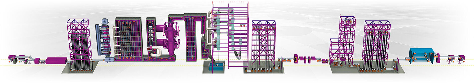 Continuous galvanizing line from Fives