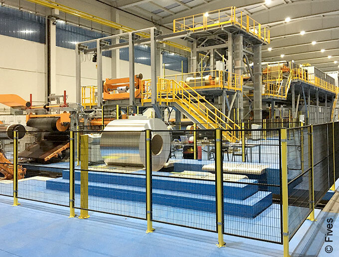 NeoKoil® color coating lines from Fives