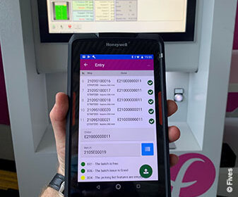 OTOMES, smartphone production monitoring